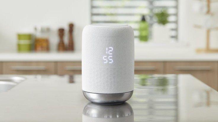 Der Google Assistant steckt in vielen Lautsprechern, unter anderem im LF-S50G von Sony.