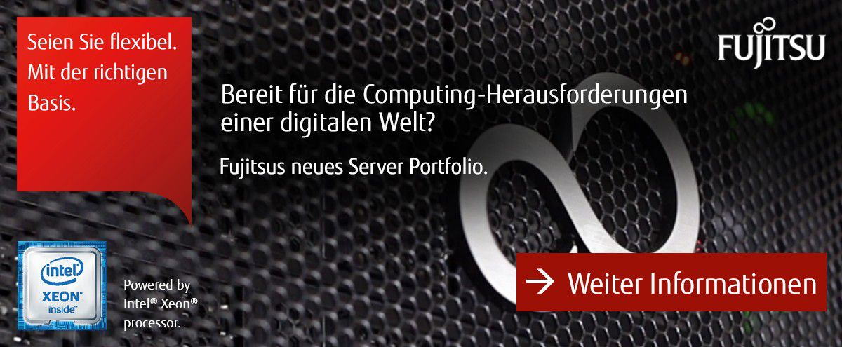 Fujitsus neues Server Portfolio