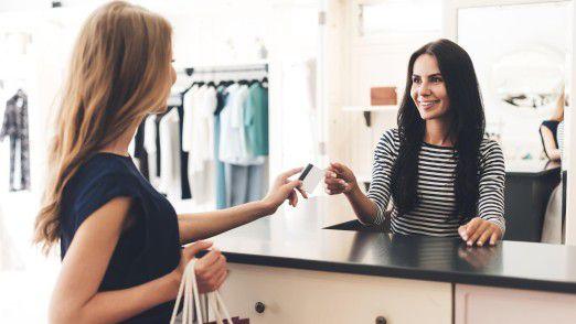 Der stationäre Modehandel verbuchte im September einen Rekordumsatz.
