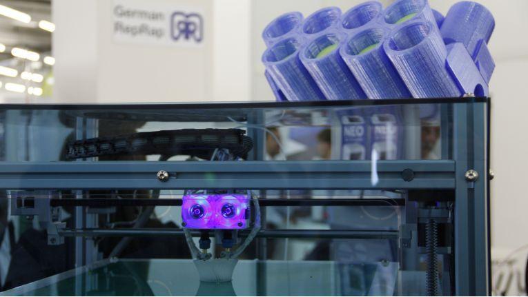 Auf der Ingram-Hausmesse 2015 war 3D-Druck mit der Gründung der entsprechenden Business Unit ein großes Thema.