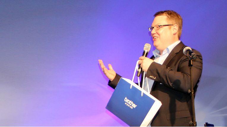 Matthias Schach, Leiter Vertrieb bei Brother, will Vertriebsmitarbeiter im Fachhandel persönlich für ihr Engagement belohnen.