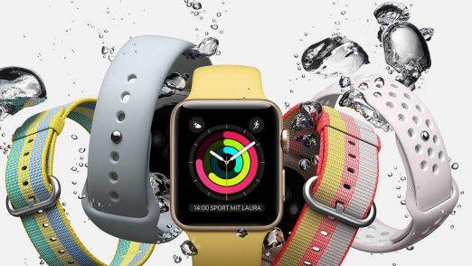 Die Apple Watch Series 4 soll ein größeres Display spendiert bekommen.