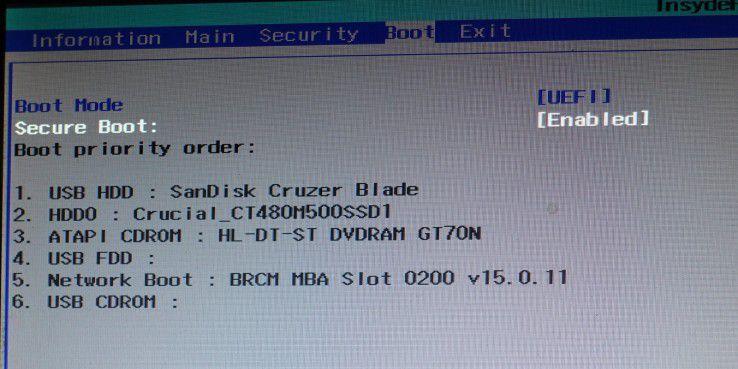 Prüfen Sie, welchen Modus der Rechner verwendet. Bie UEFI könnte auch Secure Boot eingestellt sein.
