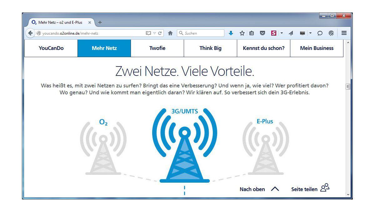 Eplus Netzabdeckung Karte.Ein Netz Telefónica Legt Mobilfunknetze Von O2 Und E Plus Zusammen