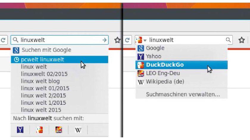 Zurück zum alten Firefox-Suchfeld: So klappt's.