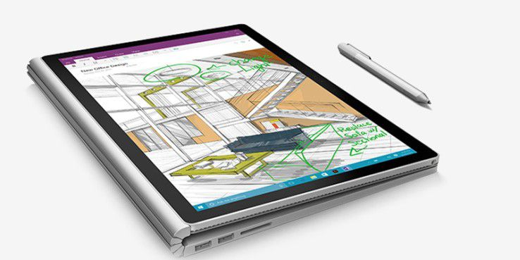 Surface Book: Die diskrete GPU steckt in der Tastatur