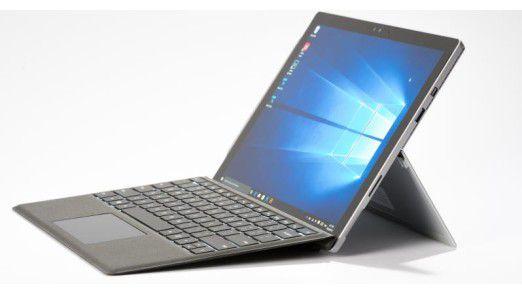 Surface Pro 4: Windows-PC mit Tablet-Ambitionen.