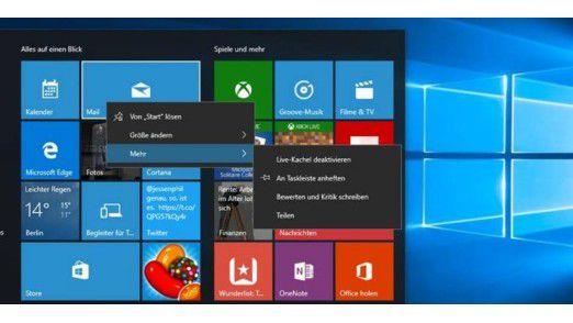 Das Windows 10 Update ist ab sofort verfügbar.