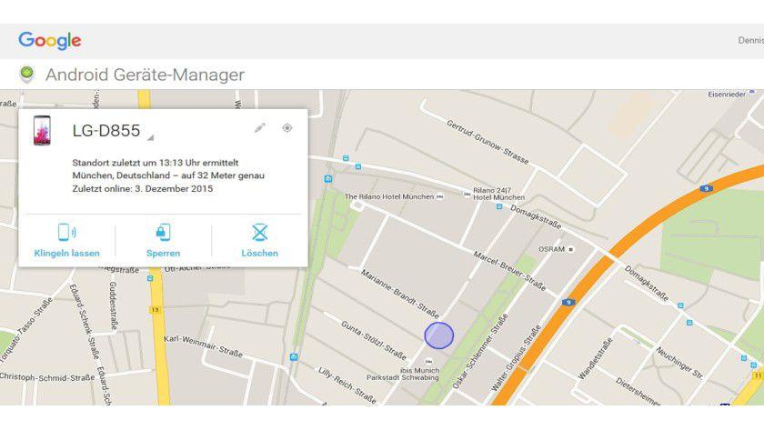 Mit dem Android Geräte-Manager von Google finden Sie Ihr Android-Smartphone oder löschen die Daten aus der Ferne.