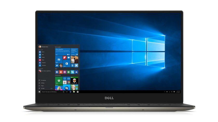 Fast nur Bildschirm: Der sehr schmale Displayrahmen macht das Dell XPS 13 einzigartig.
