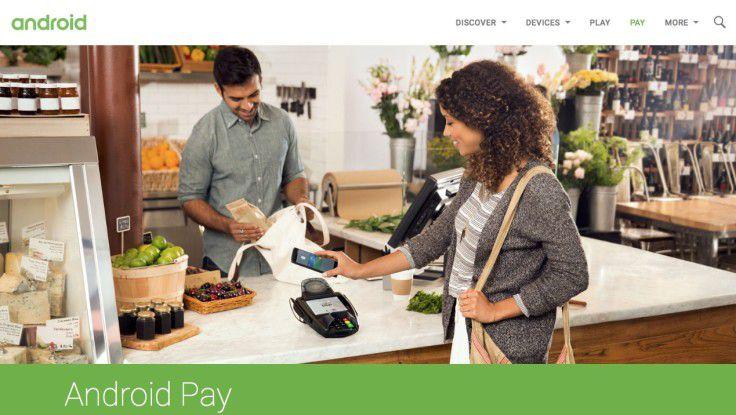 Mit Android Pay bekommt Apple Pay harte Konkurrenz. Vermutlich setzen sich wegen der ähnlichen Technik aber beide Systeme durch.