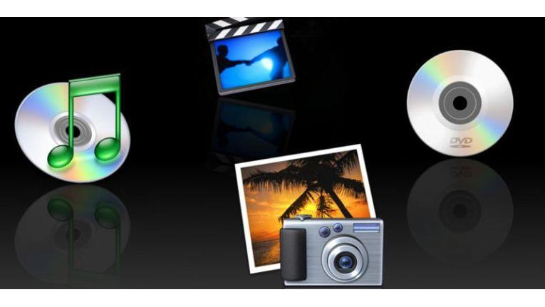 Auf Macs zwischen OS X 10.4 und OS X 10.6 ist Frontrow Teil des Lieferumfangs