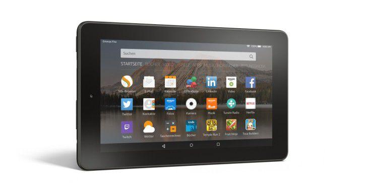 Nach dem Update können Daten auf Amazon-Fire-OS-Geräten wie dem Fire Tablet einfach ausgelesen werden.