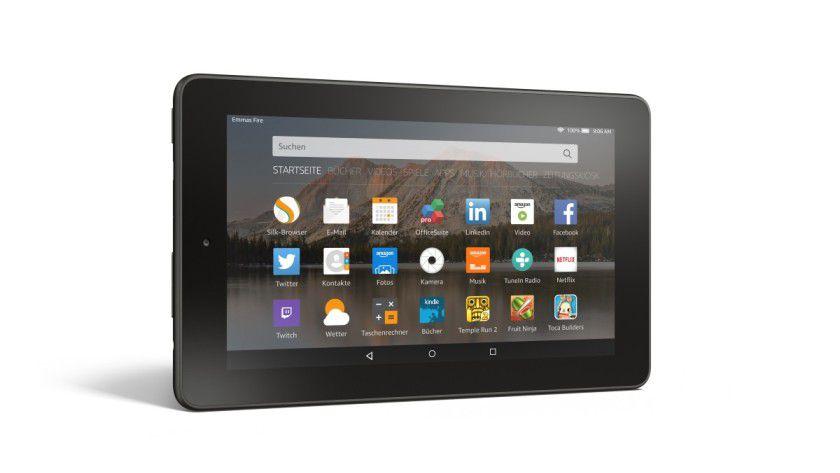 Sehr günstiges Tablet im Test: Amazon Fire für 60 Euro