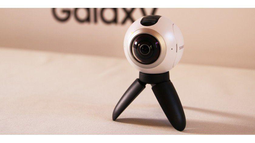 Wir haben Samsung erste 360-Grad-Kamera im Hands-On.