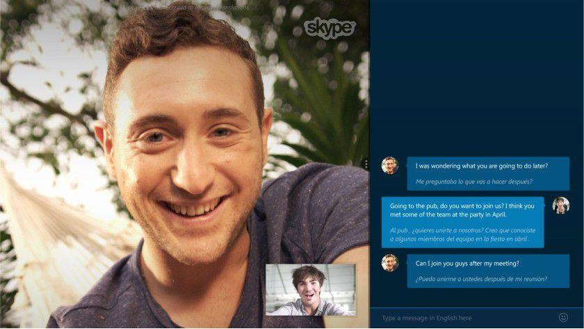 Skype Translator übersetzt Telefonate über das Internet praktisch in Echtzeit in andere Sprachen.