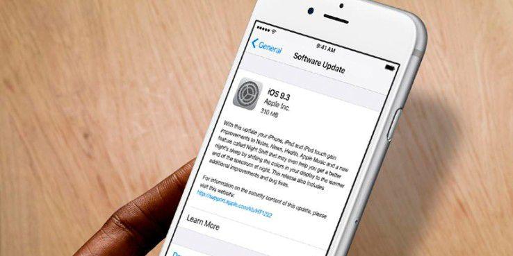 Link-Bug frustriert Nutzer von iOS 9.3.
