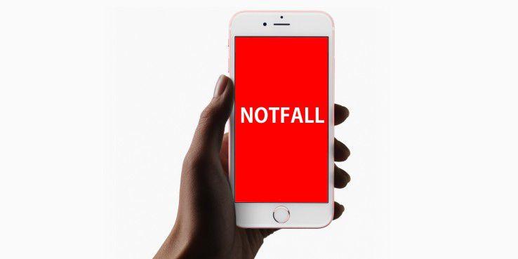Im Notfall bietet Apple hilfreiche Funktionen, mit denen Leben gerettet werden können.