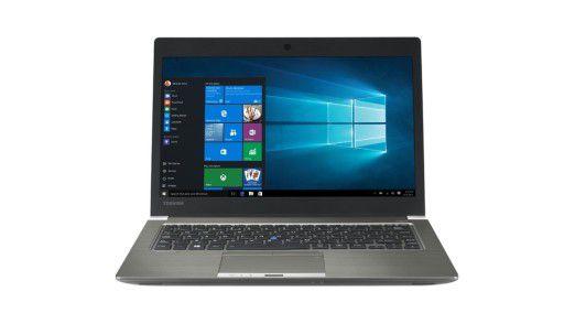 Business-Notebook mit Touchscreen im Test: Toshiba Portégé Z30t-C-110