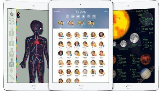 iOS 9.3 bringt neue Funktionen extra für den Schul-Einsatz.