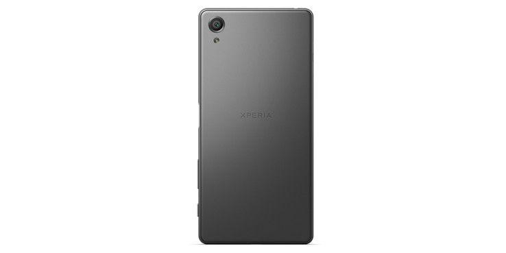 Das Gehäuse des Xperia X besteht aus Aluminium.