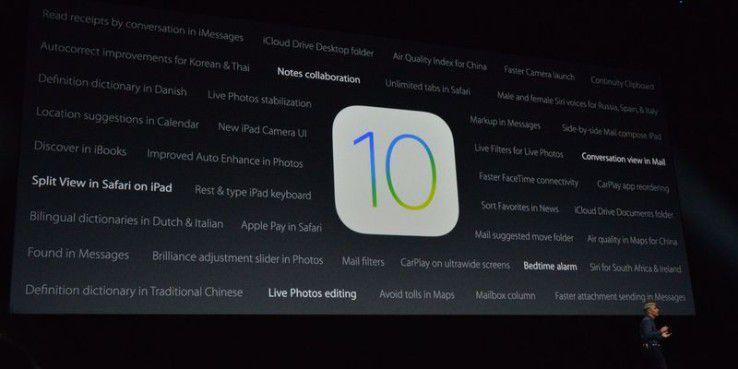 Die vielen nicht erwähnten Funktionen von iOS 10