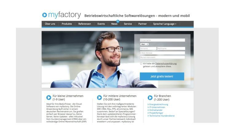 Myfactory scheint für einige Sage-Kunden eine Wechseloption zu sein.