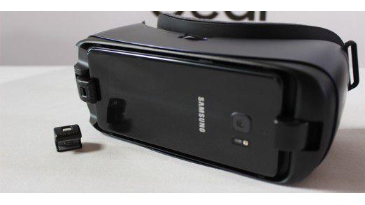 Neben dem Note 7 stellte Samsung auch die neue Gear VR vor. Vorbesteller bekommen die VR-Brille sogar kostenlos zum Handy dazu.