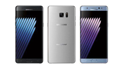 Samsung hat offiziell sein Flaggschiff Galaxy Note7 vorgestellt. Wir haben das Handy im Hands-On.