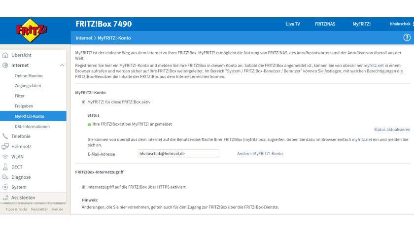 Step by Step: Erst wenn die Fritz!Box korrekt konfiguriert wird, kann der Anwender den MyFritz!-Dienst problemlos nutzen.