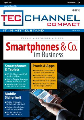 160 Seiten Praxis und Ratgeber im neuen TecChannel Compact.