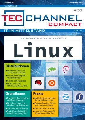 Alles Wissenswerte über Linux erfahren Sie in dieser Compact-Ausgabe.