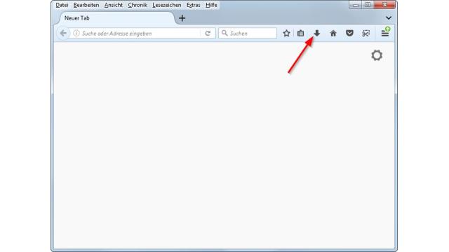Firefox Browser: Download-Button in Firefox Quantum wieder