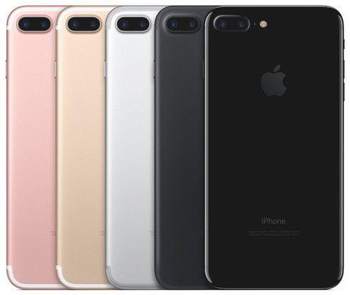 Im vierten Quartal 2016 überholte Apple dank einer starken Nachfrage nach dem iPhone 7 (Plus) den Wettbewerber Samsung.