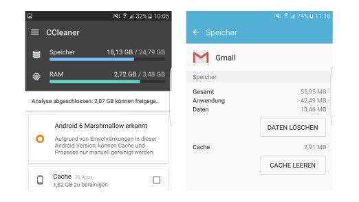 Android-Apps vollständig löschen mit Bordmitteln oder CCleaner