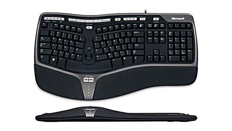 Mit dieser ergonomischen Tastatur war Microsoft sehr erfolgreich.
