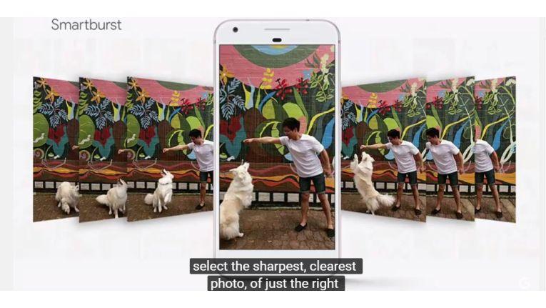 Smartburst: Immer das beste Foto