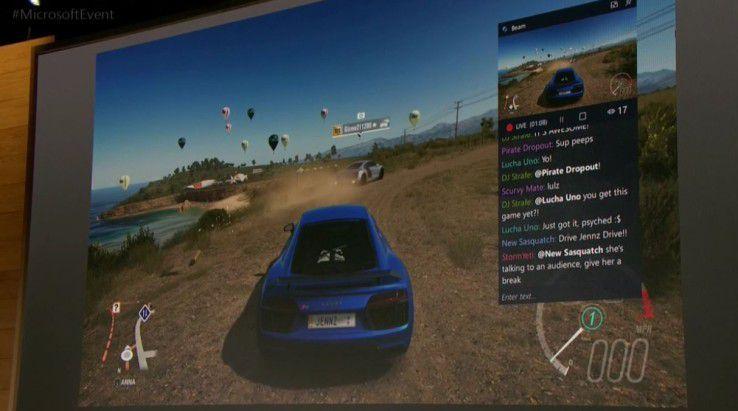 Windows 10 Creators Update enthält Verbesserungen im Bereich Live-Streaming von Spielen