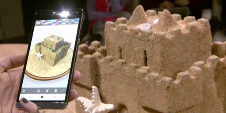 Blick auf die neue App Windows Capture 3D