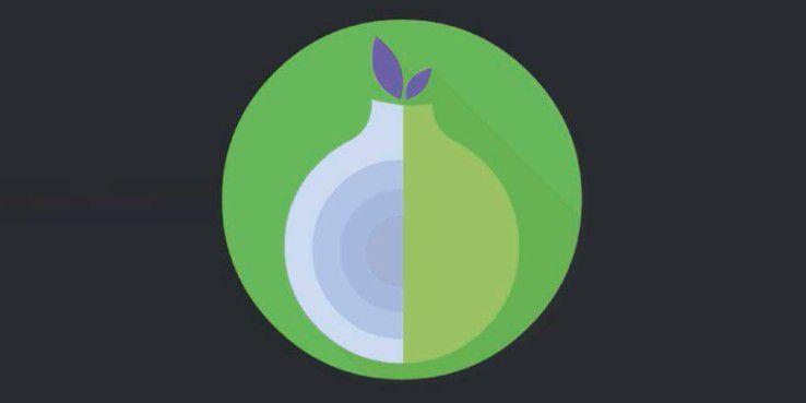 Um eine neue Tor-Identität zu erhalten, wischen Sie über das Orbot-Logo, bis es sich dreht.