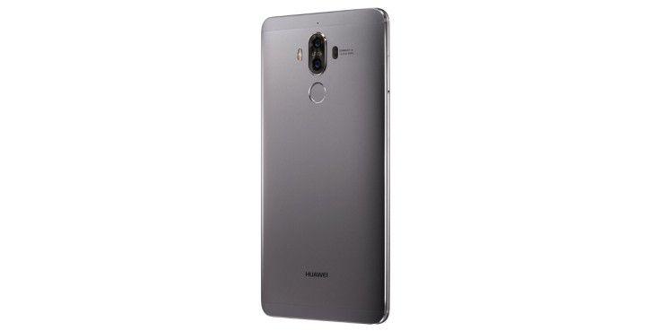 Das Gehäuse des Huawei Mate 9 besteht aus Aluminium mit hochwertiger Verarbeitung.