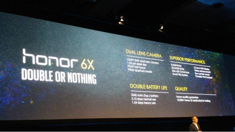 Honor 6X: Überblick über die Eigenschaften