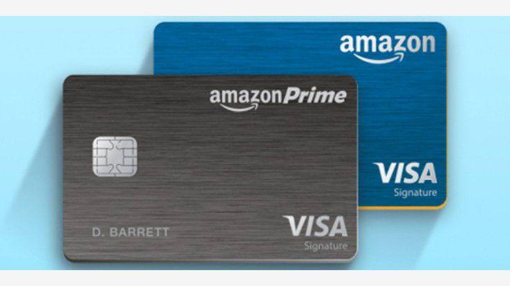 8 Prozent Rabatt: Visa-Karte für Amazon Prime-Mitglieder