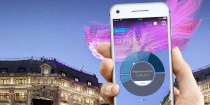 Die Deutsche Bank bietet zwar eine Banking-App an, doch mit Messengerdiensten und SMS hat es das große deutsche Bankhaus weniger.