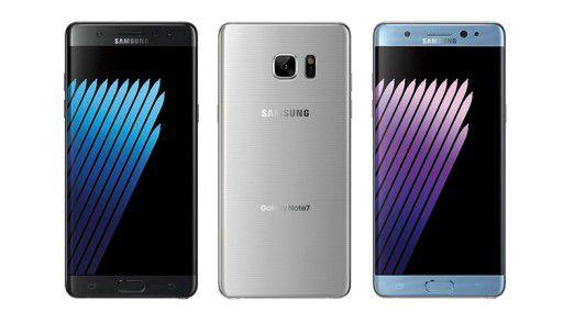 Nach der Panne mit dem Galaxy Note 7 ist Samsung scheinbar wieder auf Kurs.