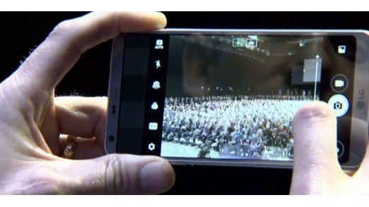 Die Kamera des LG G6 besitzt einen optischen Zoom
