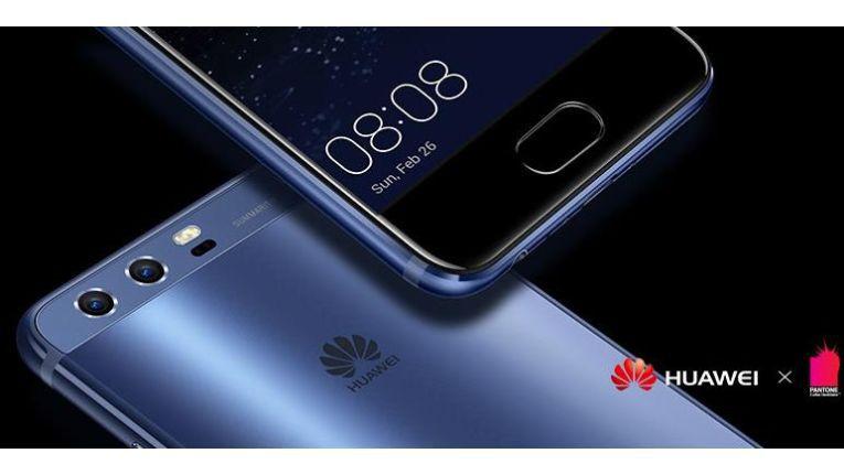 Das Huawei P10 kommt auch in einem schicken Blau.