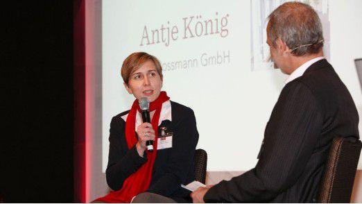 """Freut sich auf die Gala """"CIO des Jahres 2018"""" am 15. November in München: Vorjahrespreisträgerin Antje König, CIO von Rossmann."""