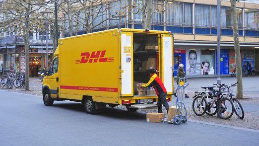 Die Polizei rät bei DHL-Päckchen zur Vorsicht.