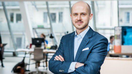 Bernhard Kowatsch, Leiter des WFP Innovation Acclerator